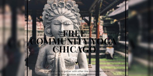FREE COMMUNITY YOGA (MULTIPLE CLASSES) (ALL AGES)