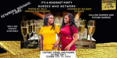 It's a Headshot Party: Nurses who Network