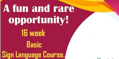 Basic Sign Language Course