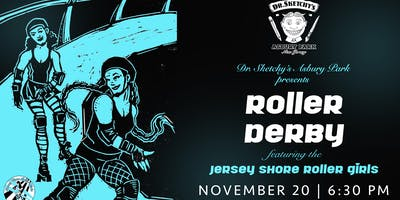 Dr. Sketchy's Asbury Park: Roller Derby (figure drawing)