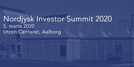 Nordjysk Investor Summit 2020 tickets