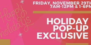 HOLIDAY POP-UP EXCLUSIVE! - Giving Back to the Community