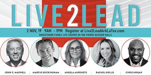 Live2Lead 2019 with John Maxwell, Chris Hogan, Rachel Hollis, and MORE!