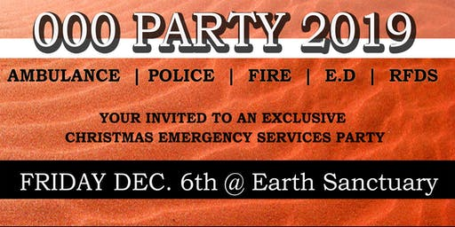 000 Emergency Services Christmas Party
