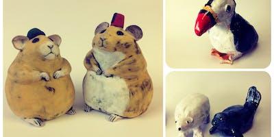 Pottery Taster Workshop -Making Animals