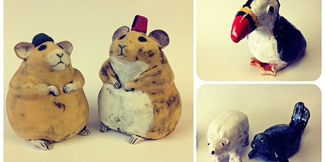 Pottery Taster Workshop -Making Animals tickets