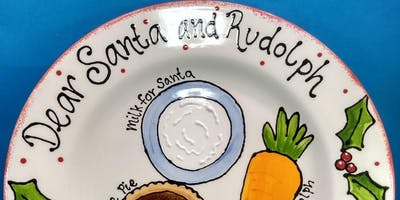 Treats for Santa: Plate Painting Workshop