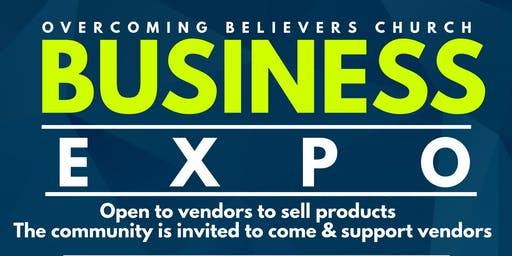 OBC Small Business Expo 2019 - Vendor Registration