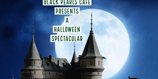 black pearls Halloween spectacular !!!