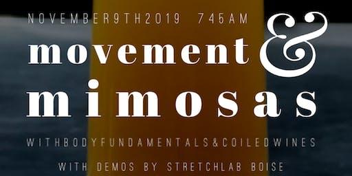 Move, Mingle & Mimosas