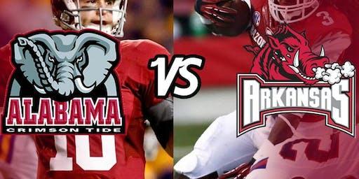 Bama Homecoming Game against Arkansas