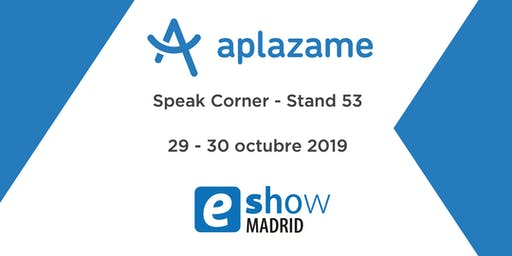 Speak Corner Aplazame - eShow Madrid 2019