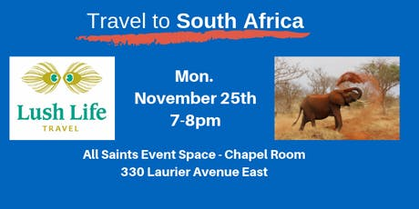 Travel to South Africa tickets