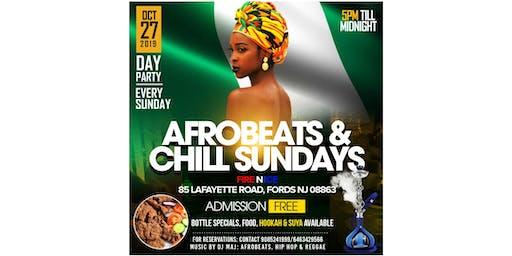 Afrobeats N Chill Sundays