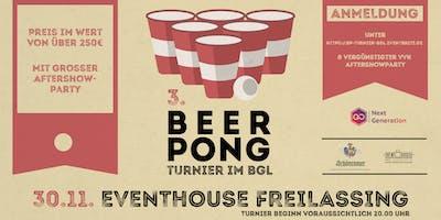 3. Beerpong - Turnier im BGL