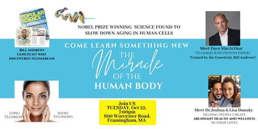 Come Learn The Miracle of the Human Body