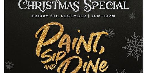 Paint, Sip & Dine