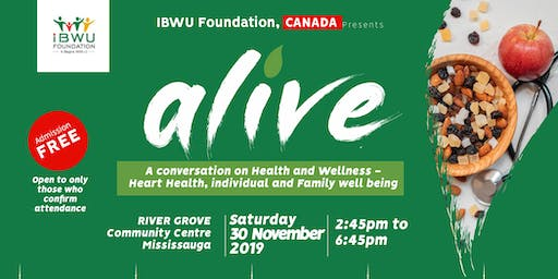 ALIVE- A Conversation on Health and Wellness