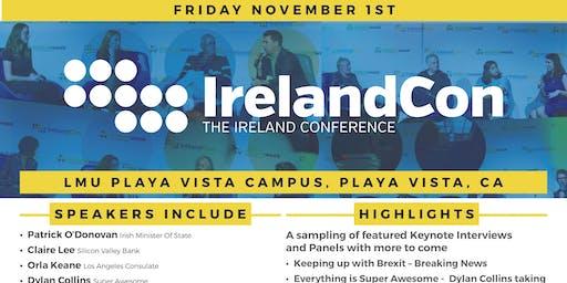 IrelandWeek 2019  Presents, IRELANDCON, The Ireland Conference, LMU Playa Vista Campus, Silicon Beach