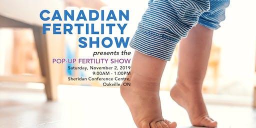 Canadian Fertility Show - Pop Up Fertility Show - Oakville