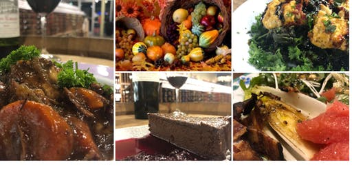 Tastes ofThanksgiving Wine Dinner featuring Chef Regan Stachler and Andrew Merhing from Winebow Fine Wines