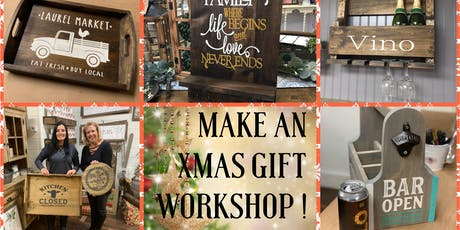 Make an Xmas Gift Workshop!! SOLD OUT tickets