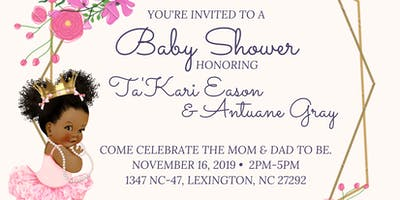 Baby Shower Honoring TaKari Eason & Antuane Gray