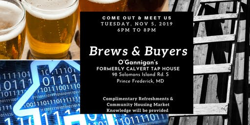 Brews & Buyers- Presented by Calvert Co. Community Connection