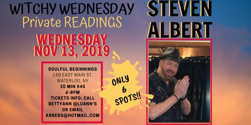 Steve Albert: Private Readings 11/13 SOULFUL