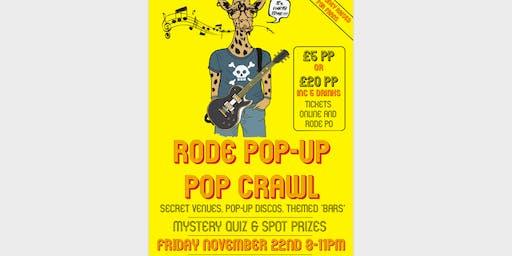 The Rode Pop-Up Pop Crawl