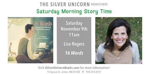 Saturday Morning Storytime: Lisa Rogers