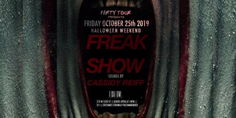 FREAK SHOW FRIDAY tickets
