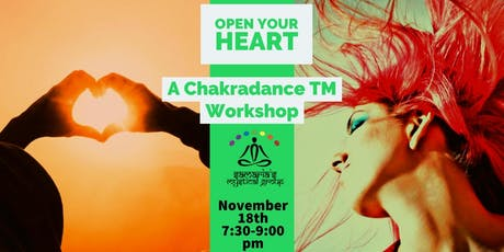 Open Your Heart - A Chakradance Workshop tickets