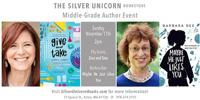 Middle-Grade Author Event: Elly Swartz in Conversation with Barbara Dee