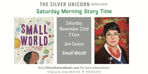 Saturday Morning Storytime: Jen Corace
