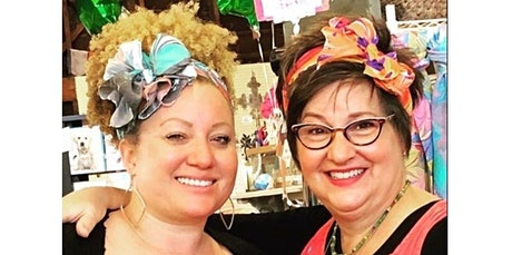 Learn to Marble a  Silk Head Wrap - Scarf Size  (01-25-2020 starts at 6:00 PM) tickets