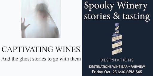 Spooky wine tales
