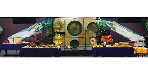 Gong Sound Experience and Energy Healing