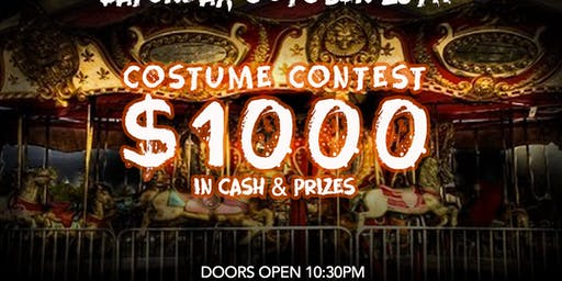 Scary Carnival with DJ Ernesto at Kiss Kiss  Free Guestlist - 10/26/2019