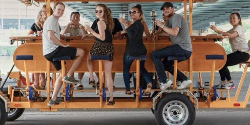 Pedal Pub Networking after 5