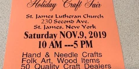 St. James Lutheran Church Annual Holiday Craft Fair