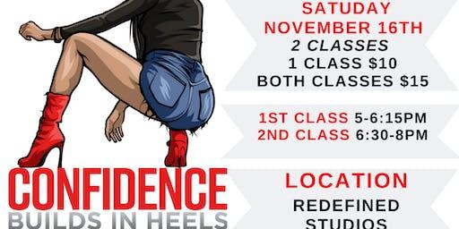 Copy of Confidence Builds In Heels Cincinnati (NOVEMBER  Class)