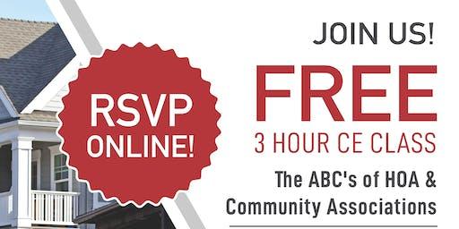 ABCs of HOA's & Community Association Management
