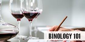 Binology 101: Basics of Wine Tasting