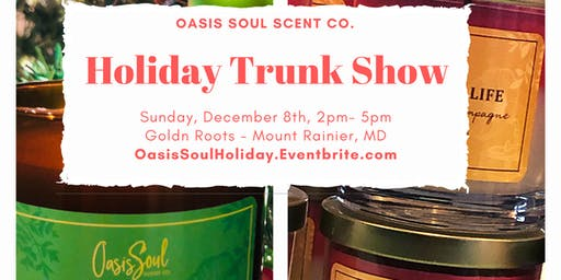Oasis Soul Holiday Trunk Show