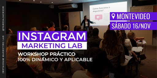 Workshop Instagram Marketing Lab - Montevideo
