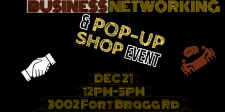 BUSINESS NETWORKING & POP -UP SHOP EVENT tickets