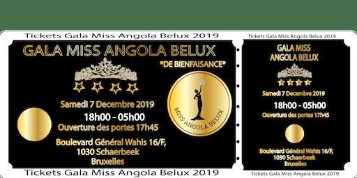 Gala Miss Angola Belux De Bienfaisance  2019