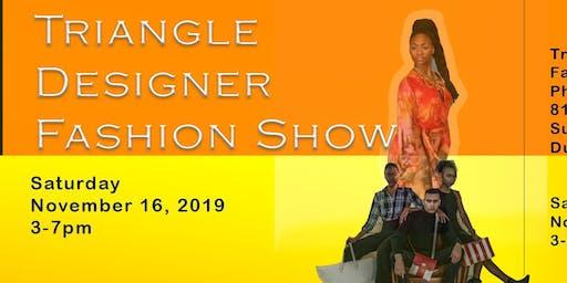 Triangle Designers Fashion Show