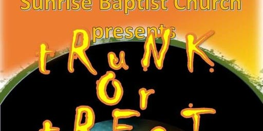 2019 Sunrise Baptist Church Inspirational Trunk or Treat